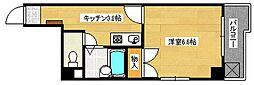 広島県広島市南区西旭町の賃貸マンションの間取り