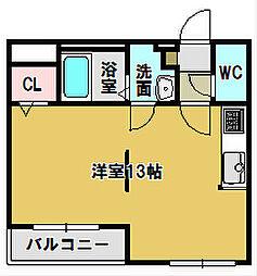 三重県鈴鹿市江島町の賃貸マンションの間取り