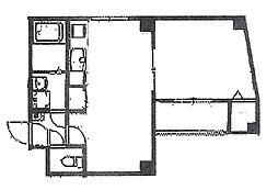 Pear Residence Minato[5階]の間取り