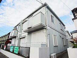 千葉県流山市東初石4丁目の賃貸アパートの外観