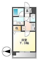 エコロジー栄レジデンス[9階]の間取り