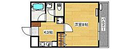 SUNHOUSE[1階]の間取り