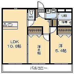 (新築)吉村町中無田マンション[307号室]の間取り