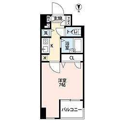エスコート神田岩本町[7階]の間取り