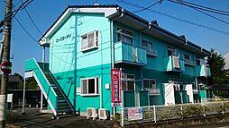 群馬県前橋市敷島町の賃貸アパートの外観