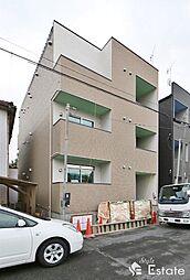 愛知県名古屋市北区稚児宮通1丁目の賃貸アパートの外観