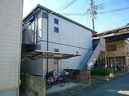 大阪府大阪市東住吉区住道矢田1丁目の賃貸マンションの外観