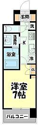 仙台市営南北線 北四番丁駅 徒歩10分の賃貸マンション 9階1Kの間取り