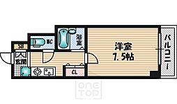 ピュアフォレスト[4階]の間取り