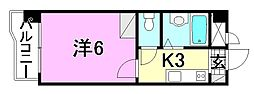 富士樋又ビル[303 号室号室]の間取り