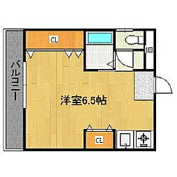 TRTマンション[2階]の間取り