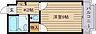 間取り,1K,面積17m2,賃料3.0万円,広島電鉄宮島線 山陽女学園前駅 徒歩7分,広島電鉄宮島線 楽々園駅 徒歩10分,広島県広島市佐伯区隅の浜1丁目