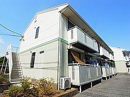 東京都足立区島根4丁目の賃貸アパートの外観