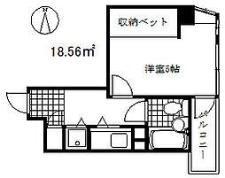 ライオンズマンション大倉山公園[3階]の間取り