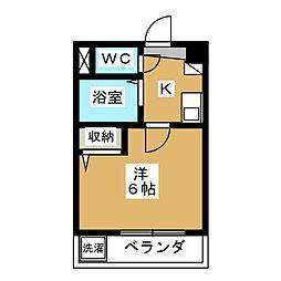 ジョイフル長澤[2階]の間取り