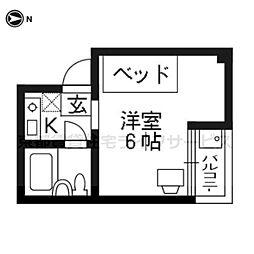 エクラン・ドール[402号室]の間取り
