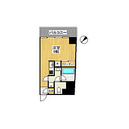LEON−A[6階]の間取り