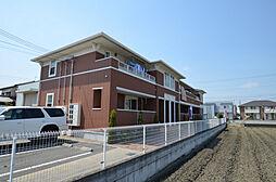 兵庫県姫路市網干区北新在家の賃貸アパートの外観