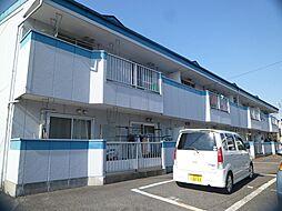 栃木県宇都宮市江曽島3丁目の賃貸アパートの外観