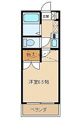 コーポトラスト[1階]の間取り