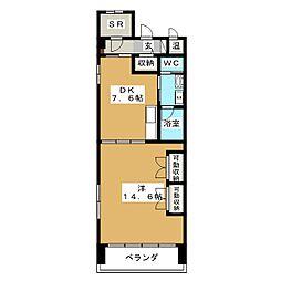 GOマンション[3階]の間取り