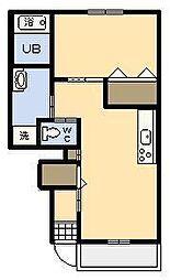 (新築)サンフィット大塚[202号室]の間取り