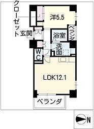 ビジャ松原[2階]の間取り