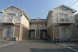 兵庫県加古川市尾上町安田の賃貸アパートの外観