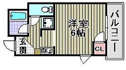 Rovere Ozaki[3D号室]の間取り