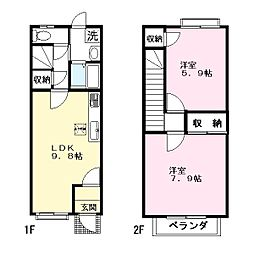 アイハウス[1階]の間取り