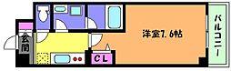FlareCourt甲南[4階]の間取り