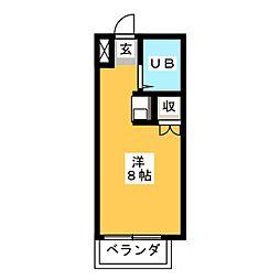 ユニバーサル八事[2階]の間取り