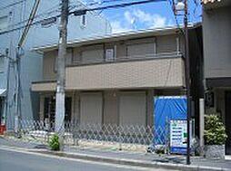 京都府京都市左京区田中里ノ内町の賃貸アパートの外観