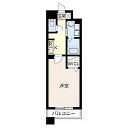カルザ姫路[405号室]の間取り