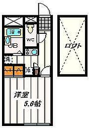 埼玉県さいたま市浦和区木崎2丁目の賃貸マンションの間取り