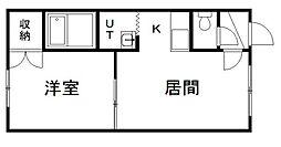 サンピステ[2階]の間取り