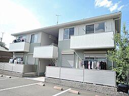 福岡県北九州市八幡西区上香月2丁目の賃貸アパートの外観