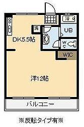 鈴木グリーンハイツA棟[102号室]の間取り