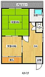 幸田マンション[4階]の間取り