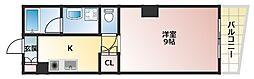 NCA美章園[5階]の間取り