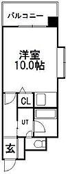パークレジデンス(旧:アルファヒル円山公園)[7階]の間取り