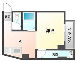 サン上島[2階]の間取り