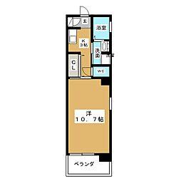 LE VERRE[3階]の間取り