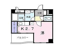 エスタシオン[3階]の間取り