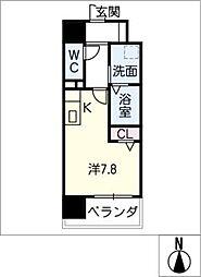 Atrio鶴舞[2階]の間取り