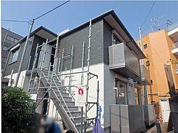 宮城県仙台市青葉区上杉6丁目の賃貸アパートの外観