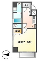 LEXCEEDizumi[8階]の間取り