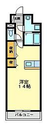 コンタントアモーレ[4階]の間取り