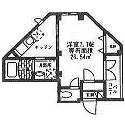 FOLGORE SAKURAI[107号室号室]の間取り