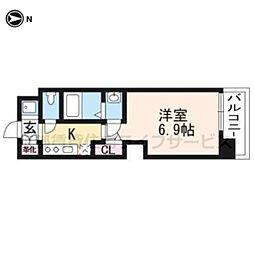 仮称)アクアプレイス京都洛南II602[6階]の間取り